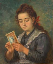 Girl with a Plate