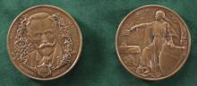 """THE FIRST PRESIDENT OF LITHUANIA 1919"", Medal on the Occasion of Restoration of Independence of Lithuania"