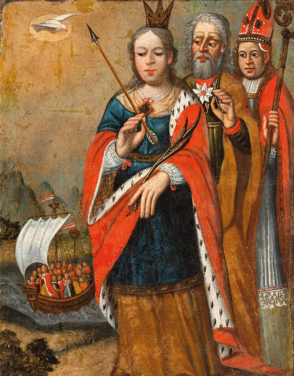 St Ursula with St Joseph and St Stanislaus