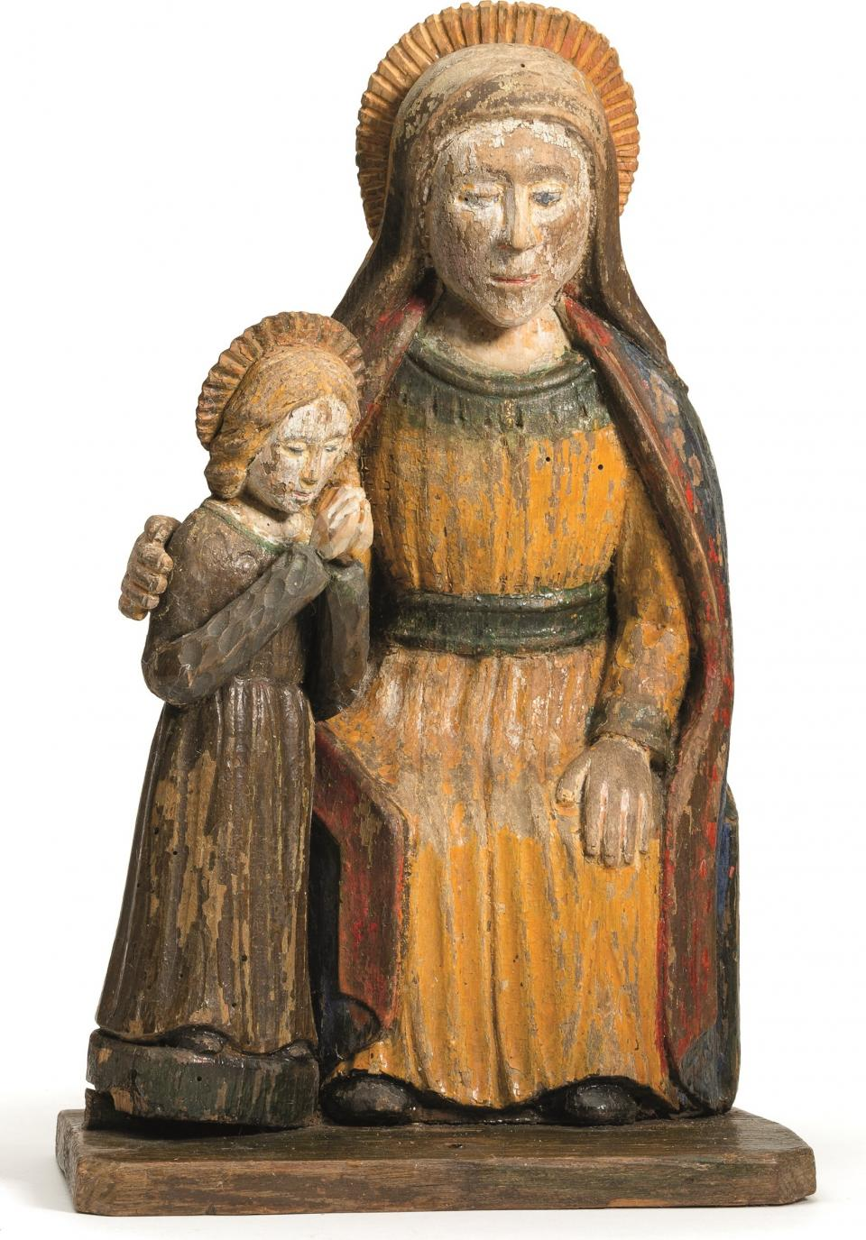 St Ann with the Virgin Mary